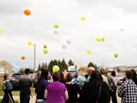 2017 Easter Balloon Release